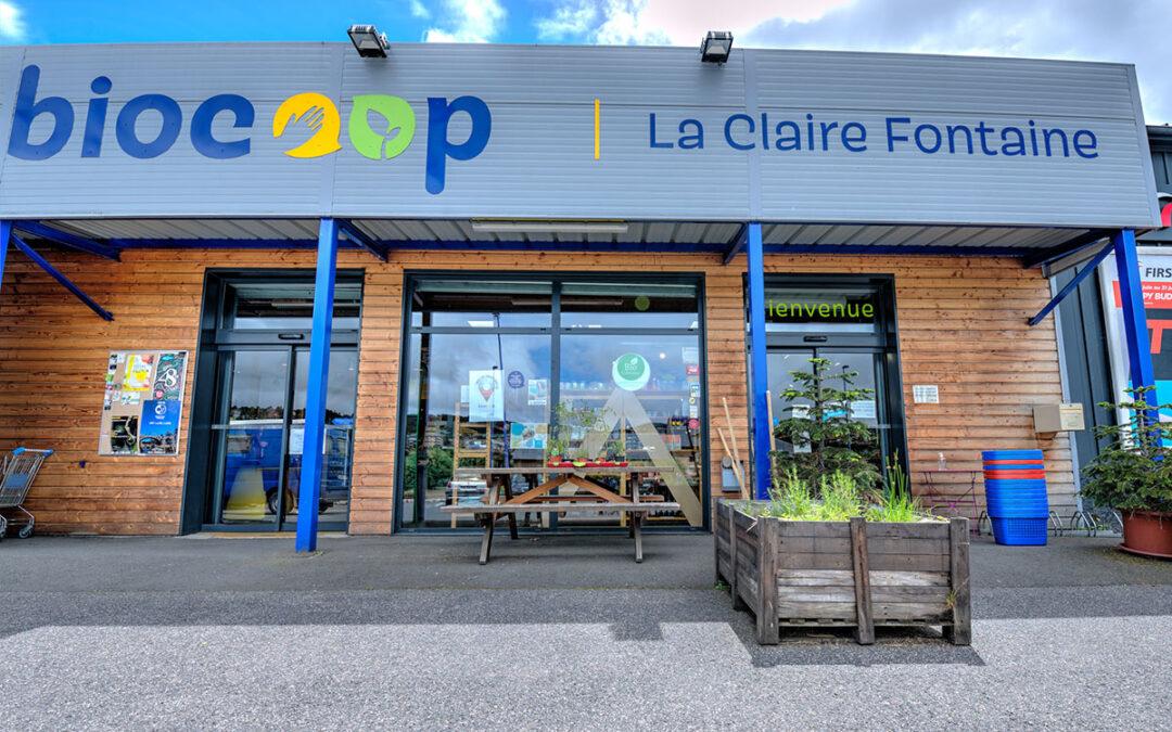 BIOCOOP – La Claire Fontaine Stocker dans Mende