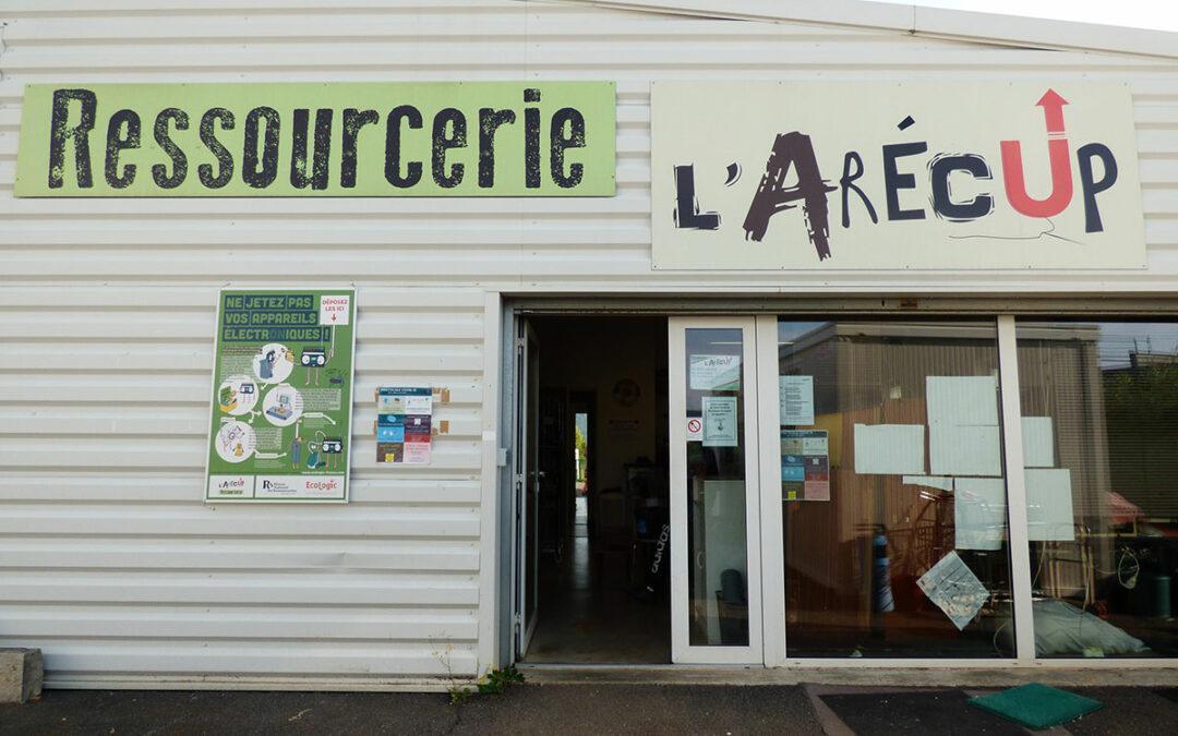 L'Arécup – La Ressourcerie Stocker dans  MENDE